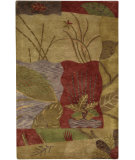 RugStudio presents Surya Mugal IN-8065 Tan Beige Hand-Knotted, Good Quality Area Rug