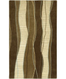 RugStudio presents Surya Mugal IN-8072 Brown Dark Hand-Knotted, Good Quality Area Rug