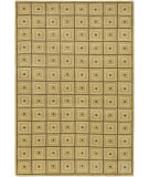 RugStudio presents Surya Mugal IN-8075 Gold Beige Hand-Knotted, Good Quality Area Rug