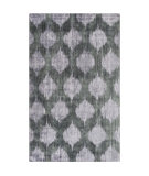 RugStudio presents Surya Mugal IN-8605 Black/ Gray Hand-Knotted, Good Quality Area Rug