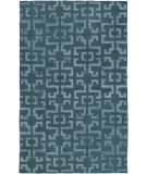 RugStudio presents Surya Mugal In-8613 Teal Hand-Knotted, Good Quality Area Rug