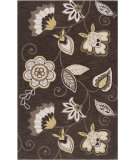 RugStudio presents Surya Impressions Ipr-4001 Dark Brown Hand-Tufted, Good Quality Area Rug