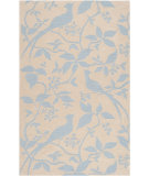 RugStudio presents Surya Impressions Ipr-4003 Winter Sky Blue Hand-Tufted, Good Quality Area Rug