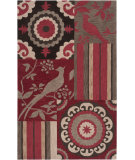 RugStudio presents Surya Impressions Ipr-4005 Carmine Hand-Tufted, Good Quality Area Rug