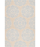RugStudio presents Surya Impressions Ipr-4010 Sky Blue Hand-Tufted, Good Quality Area Rug