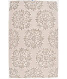 RugStudio presents Rugstudio Sample Sale 73336R Oyster Gray Hand-Tufted, Good Quality Area Rug