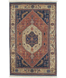 RugStudio presents Surya Adana It-874 Navy Blue Hand-Knotted, Better Quality Area Rug