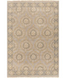 RugStudio presents Surya Jade JDE-3002 Neutral / Green Hand-Knotted, Good Quality Area Rug