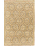 RugStudio presents Surya Jade JDE-3003 Neutral / Blue Hand-Knotted, Good Quality Area Rug