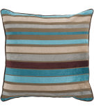 RugStudio presents Surya Pillows JS-024 Teal/Multi