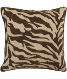 RugStudio presents Surya Pillows JS-033 Chocolate/Olive