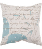 RugStudio presents Surya Pillows JS-049 Beige/Teal
