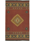 RugStudio presents Surya Jeweltone Flatweave Dhurrie Jt-1033 Red Flat-Woven Area Rug