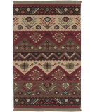 RugStudio presents Surya Jeweltone Flatweave Dhurrie Jt-8 Red Flat-Woven Area Rug