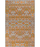 RugStudio presents Surya Jewel Tone Ii JTII-2053 Neutral / Orange / Green Area Rug
