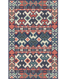 RugStudio presents Surya Jewel Tone Ii JTII-2054 Ivory / Pink / Blue / Green Flat-Woven Area Rug