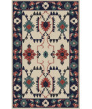 RugStudio presents Surya Jewel Tone Ii JTII-2057 Neutral / Pink / Blue / Green Area Rug
