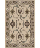 RugStudio presents Surya Jewel Tone Ii JTII-2063 Ivory / Green Flat-Woven Area Rug