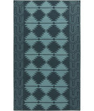 RugStudio presents Surya Jewel Tone Ii JTII-2065 Navy / Teal Flat-Woven Area Rug