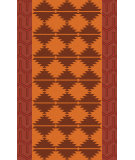 RugStudio presents Surya Jewel Tone Ii JTII-2070 Orange / Red / Pink Flat-Woven Area Rug