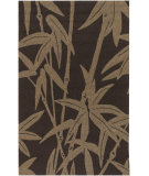 RugStudio presents Rugstudio Sample Sale 27997R Chocolate Hand-Hooked Area Rug