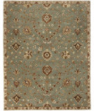 RugStudio presents Rugstudio Sample Sale 88533R Alpine Green Hand-Tufted, Good Quality Area Rug