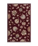 RugStudio presents Surya Kingston KGT-2004 Wine Hand-Tufted, Best Quality Area Rug