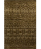 RugStudio presents Surya Knightsbridge KNI-1000 Gold / Green Hand-Knotted, Good Quality Area Rug
