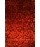 RugStudio presents Surya Kinetic Knt-3014 Terra Cotta Hand-Tufted, Good Quality Area Rug