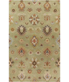RugStudio presents Surya Langley LAG-1020 Neutral / Orange / Blue / Green Area Rug
