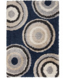 RugStudio presents Surya Los Angeles LAX-5002 Neutral / Blue Area Rug