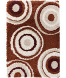 RugStudio presents Surya Los Angeles LAX-5003 Neutral / Orange / Red Area Rug