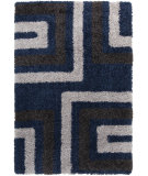 RugStudio presents Surya Los Angeles LAX-5011 Neutral / Blue Area Rug