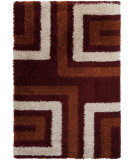 RugStudio presents Surya Los Angeles LAX-5013 Neutral / Orange / Red Area Rug