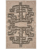 RugStudio presents Surya Labrinth Lbr-1003 Mushroom Hand-Hooked Area Rug