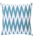 RugStudio presents Surya Pillows LG-522 Teal/Ivory