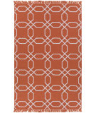 RugStudio presents Surya Lagoon Lgo-2008 Rust Flat-Woven Area Rug