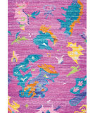 RugStudio presents Surya Lima LMA-8000 Yellow / Orange / Violet (purple) / Blue / Green / Neutral Area Rug