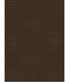 RugStudio presents Surya Luminous LMN-3011 Dark Brown Hand-Knotted, Good Quality Area Rug