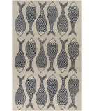 RugStudio presents Rugstudio Sample Sale 88559R Bone Hand-Tufted, Good Quality Area Rug