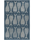 RugStudio presents Rugstudio Sample Sale 88560R Teal Blue Hand-Tufted, Good Quality Area Rug