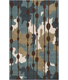 RugStudio presents Surya Lava Lva-8009 Dark Robins Egg Blue Hand-Tufted, Good Quality Area Rug