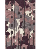 RugStudio presents Surya Lava LVA-8014 Prune Purple Hand-Tufted, Good Quality Area Rug