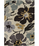 RugStudio presents Surya Lava LVA-8017 Antique White Hand-Tufted, Good Quality Area Rug