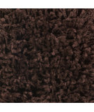 RugStudio presents Surya Luxury Shag LXY-1721 Dark Chocolate Area Rug