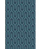 RugStudio presents Surya Mystique M-5384 Teal Woven Area Rug