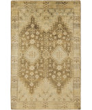 RugStudio presents Surya Maiden MAI-7000 Neutral / Green Hand-Knotted, Good Quality Area Rug