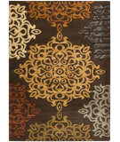 RugStudio presents Surya Majestic MAJ-1029 Neutral / Green / Violet (purple) Machine Woven, Good Quality Area Rug