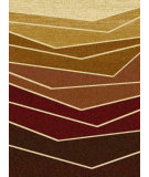RugStudio presents Surya Majestic MAJ-1030 Neutral / Green / Red Machine Woven, Good Quality Area Rug