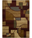 RugStudio presents Surya Majestic MAJ-1034 Neutral / Green / Red Machine Woven, Good Quality Area Rug